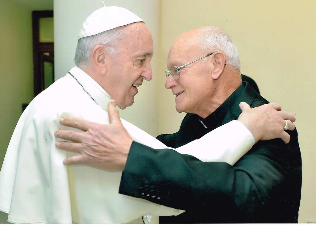 Don Giuliano e papa Francesco